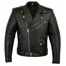 Leather Brando Motorbike Jacket Marlon Biker Motorcycle Perfecto Leather Jacket