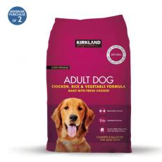 Kirkland Signature Super Premium Adult Complete Dog Food, Chicken, Rice &...