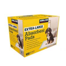 Kirkland Signature Extra-Large Absorbent Pads, 100 pack