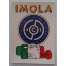 F1 Racing logo Sticker - Imola.