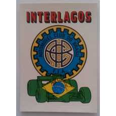 F1 Racing logo Sticker - Interlagos.