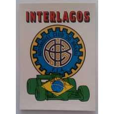 F1 Racing logo Sticker - Interlagos.