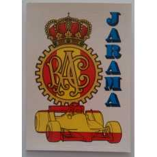 F1 Racing logo Sticker - Jarama.
