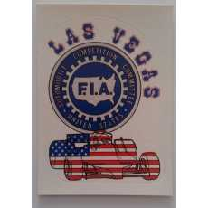 F1 Racing Sticker - Las Vegas.