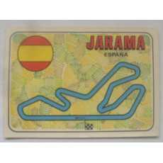 F1 Racing track Sticker - Jarama.