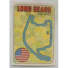F1 Racing track Sticker - Long Beach.
