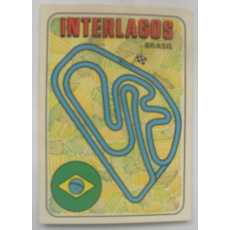 F1 Racing track Sticker - Interlagos.