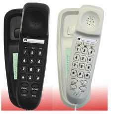 TEL UK 18008 Bilbao Telephone Black