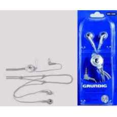 Grundig GHI1570 Earphones (Silver & Black)