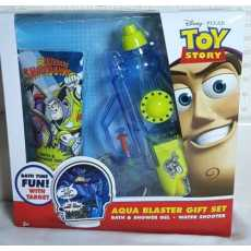 Aqua blaster gift set (Bath & shower Gel, Water shooter) Disney Pixar. Toy Story