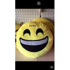 HIGHLIVING @32*32CM Soft Round Emoji Smiley Emoticon Cushion Pillow Stuffed...