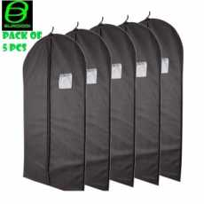 Pack of 5 Pcs New Home Clothes Garment Cover Case Dustproof Storage Bags For...
