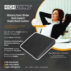 Variation of catalog item Highliving®Memory Foam Wedge Support Cushion Car...