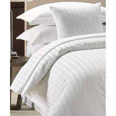 Highliving Duvet Cover Set 300 Thread Count White 100% Egyptian cotton Hotel...