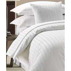 Highliving Duvet Cover Set 300 Thread Count White 100% Egyptian cotton Hotel...