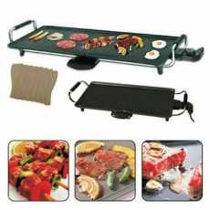 HIGHLIVING: LARGE TEPPANYAKI GRILL TABLE ELECTRIC HOT PLATE BBQ GRIDDLE...