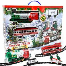 Christmas Toy Train Set for Kids Christmas train set for under tree- [Large...