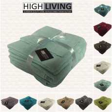 Highliving Supreme 100% Egyptian Cotton 500gsm 6 Piece Towel Set