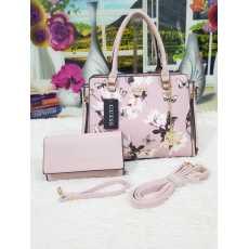 branded GUESS High Quality Hand Bag 2 Pcs Set