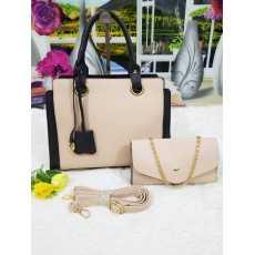 LV High Quality Hand Bag 2 Pcs Set handbag and clutch