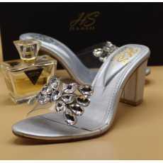"*Haash Fancy Heels * Colours:silver &golden """