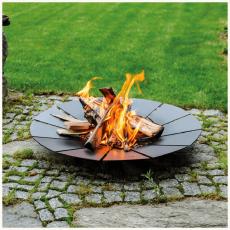 SUNNY Black Garden Fire Pits Kratki