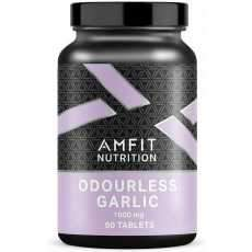 2x Amfit Nutrition Odourless Garlic 1000mg - 90 tablets Max