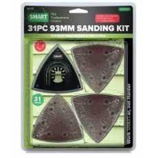 SMART Multi Tool Sanding Set Complete Kit 93mm, Triangle Head