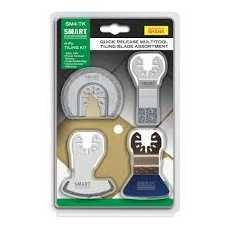 SMART SM4-TK 4 Piece Trade Multi-Tool Tiling Blade Kit