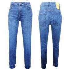 17 pieces mix lot of women's denim jeans