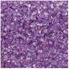Edible PURPLE Granulated sugar for cake cup cakes and desserts decoration...