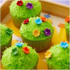 Edible Multi color flower daisy sprinkles manufactured by Authentic Food...