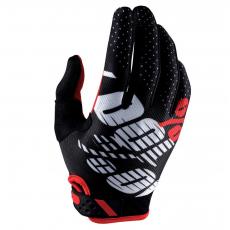 100% iTrack Gloves Black/Red