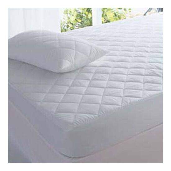 Highliving Quilted Mattress Protector Topper Luxury Fitted Cover Single...