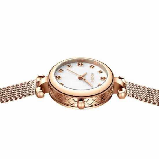 HIGH LIVING ® Wrist Luxury Watch Woman Fashion Business Dress Stainless Steel